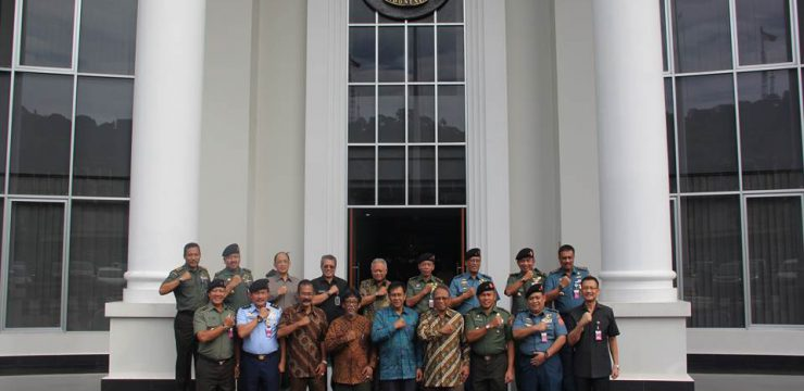 Akreditasi Universitas Pertahanan oleh Asesor Badan Akreditasi Nasional Perguruan Tinggi (BAN PT)