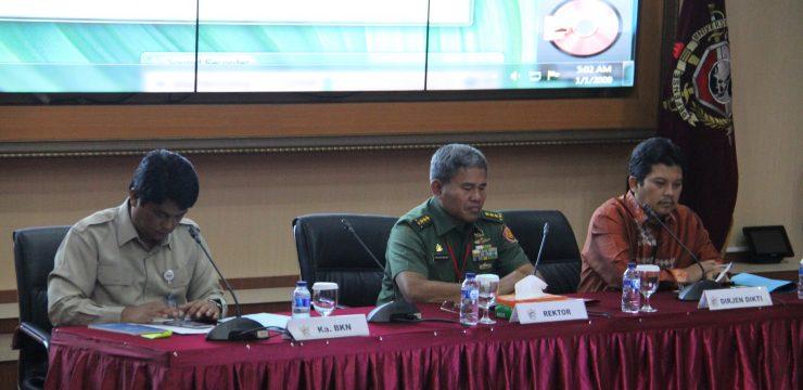 Universitas Pertahanan Selenggarakan Rakornis TA 2017