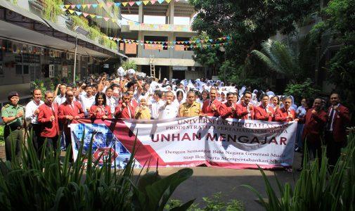 Unhan Laksanakan Program Unhan Mengajar di SMAN 1 Bogor