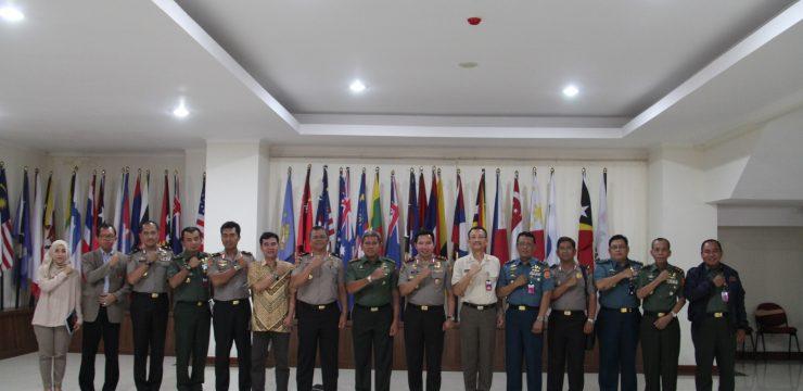 Rektor Unhan Terima Ketua STIK Lemdikpol Polri