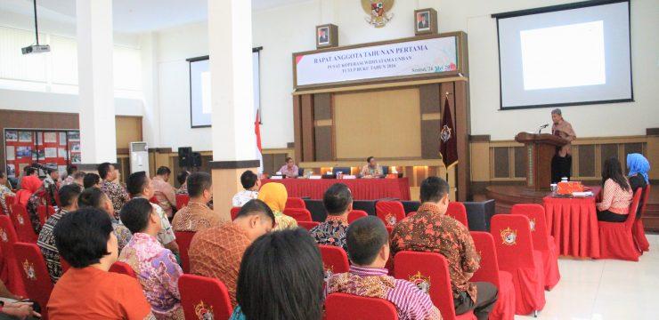 Unhan Selenggarakan RAT Pertama Puskop Widiyatama Unhan Tutup Buku Tahun 2016