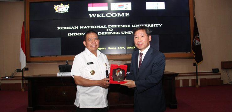 Unhan Kedatangan Kunjungan Delegasi Korean National Defense University (KNDU)