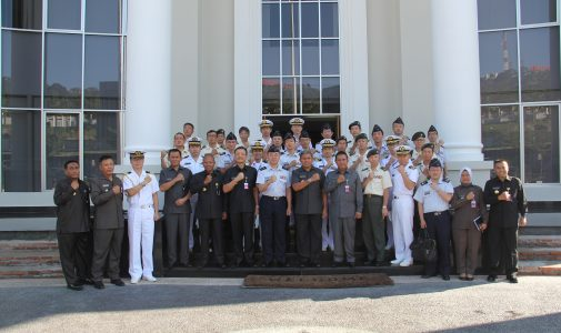 Rektor Unhan Menerima Kunjungan  Delegation of Japan Joint Staff College