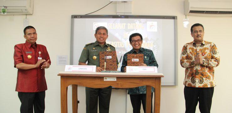 Unhan Jalin Kerjasama dengan Otoritas Jasa Keuangan (OJK)