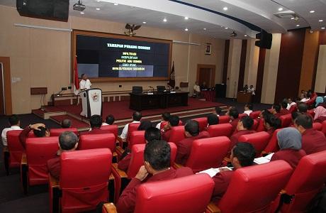 Menteri Pertahanan Berikan Kuliah Umum di Universitas Pertahanan