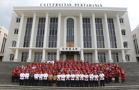 Menko Polhukam Berikan Kuliah Umum di Depan Mahasiswa Unhan