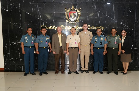 Warek I Unhan Menerima Kunjungan Direktur Asia Pasific Center For Security Studies (APCSS)