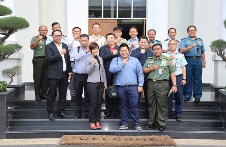 Unhan Menerima Kunjungan Delegasi Universitas Burapha Thailand