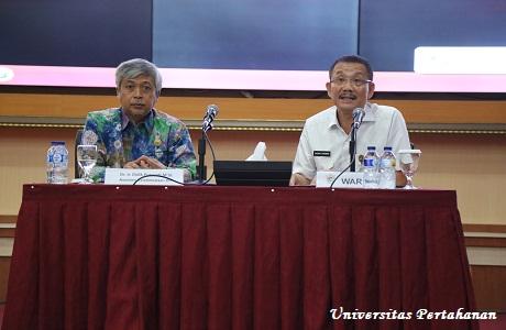 Gubernur Daerah Istimewa Yogyakarta berikan Kuliah Umum di Unhan
