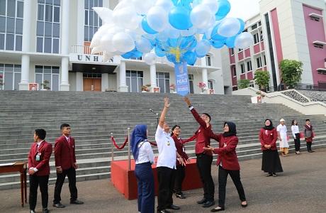Unhan Laksanakan Upacara Peringatan Hari Perdamaian Internasional