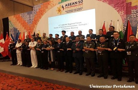 Rektor Unhan Hadiri ARF HDUCIM, Unhan Siap Menuju World Class Defense University