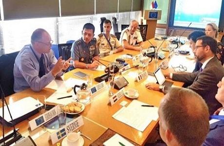 RI-Uni Eropa Jalin Kerja Sama Meningkatkan Profesionalisme TNI