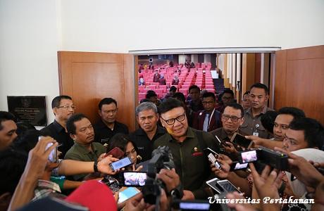 Menteri Dalam Negeri Tjahyo Kumolo Berikan Kuliah Umum di Unhan