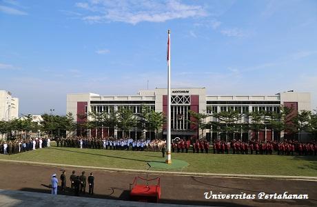 Unhan Laksanakan Upacara Peringatan HUT Ke-72 TNI