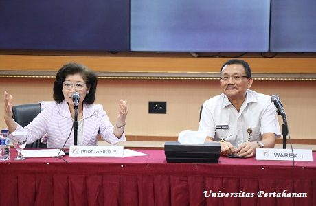 Unhan Gelar Kuliah Umum dari Prof. Akiko Yamanaka