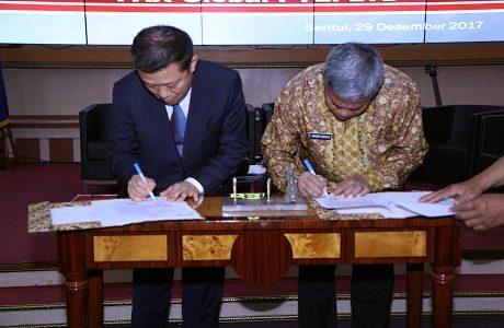 Unhan laksanakan Perjanjian Kerjasama (MoU) bersama PAX GLOBAL PTE. LTD