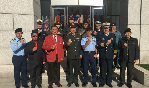 Delegasi Unhan Kunjungi National Defense University (NDU) PLA China