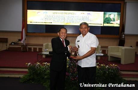 Unhan Laksanakan Penandatanganan MoU dengan ITB serta Kuliah Umum dari Rektor ITB