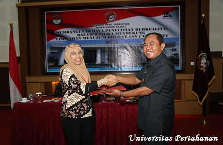 LPPM Unhan Selenggarakan Seminar Hasil Penelitian Dosen Unhan