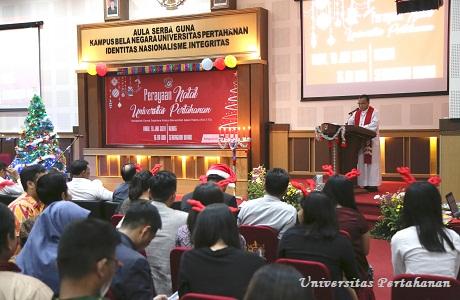 Unhan Selenggarakan Perayaan Natal Bersama Civitas Akademika