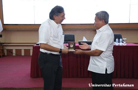 Mahasiswa Unhan Terima Kuliah Umum Terkait Pertahanan Negara  dalam Perspektif Kemaritiman