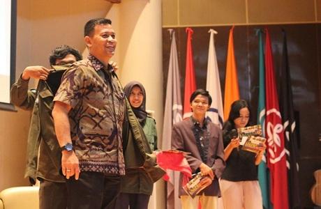 Dekan FMP Unhan Sebagai Pembicara dalam Seminar Nasional Unit Kegiatan Mahasiswa Institut Pertanian Bogor (UKM IPB)