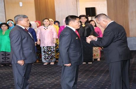 Mayjen TNI Dr. Yoedhi Swastanto Resmi dilantik menjadi Rektor Unhan Yang Baru