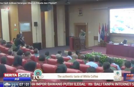 Kuliah Umum Panglima TNI Bagi Mahasiswa Unhan
