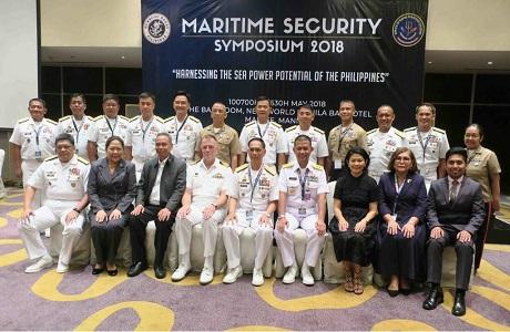 Dekan FMP Unhan Paparkan Kekuatan Maritim Indonesia di Manila