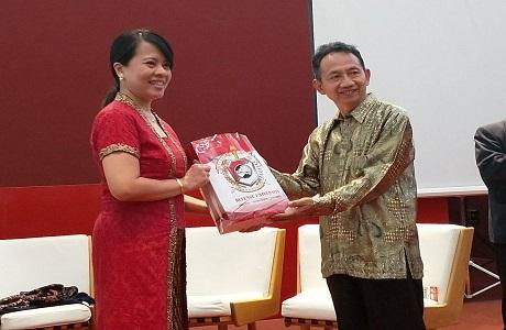 Mahasiswa Unhan Fakultas MP Audiensi dengan KJRI Shanghai,  Indonesia Chambers, Bank Mandiri Shanghai, Antam Shanghai  dan Indofood – China Region di Tiongkok