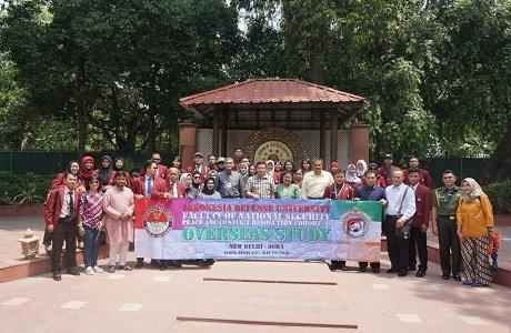Mahasiswa Unhan Fak. Kamnas Prodi Damai dan Resolusi Konfik (DRK)  Laksanakan Kuliah Kerja Luar Negeri di India