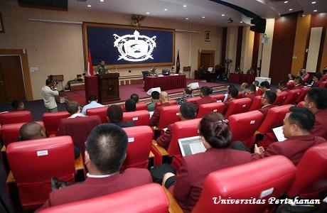 Kuliah Umum Oleh Menteri Pertahanan RI Jenderal TNI (Purn) Ryamizard Ryacudu