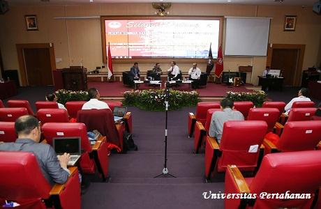 Fakultas Strategi Perang Semesta Unhan  Selenggarakan Seminar Hasil KKLN di Australia dan China