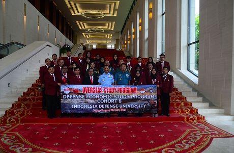 Mahasiswa Prodi Ekonomi Pertahanan (EP) FMP Unhan  Kunjungi HUAWEI Headquarter Beijing