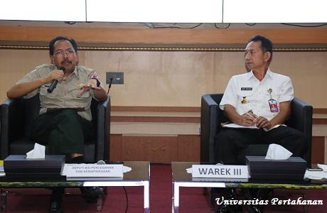 Kepala Badan Nasional Penanggulangan Bencana Berikan Kuliah Umum di Unhan