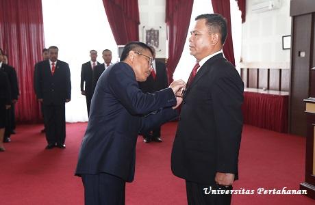 Rektor Unhan Pimpin Serah Terima Jabatan Warek III Bidang Kerjasama dan Kelembagaan Unhan