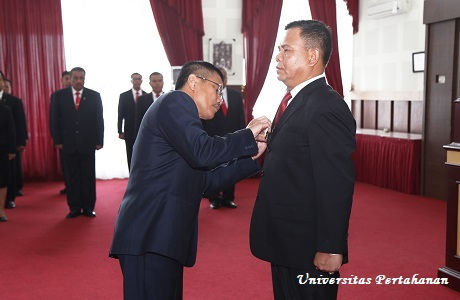 Sertijab Wakil Rektor III Unhan
