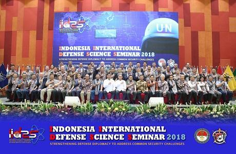 Universitas Pertahanan menggelar Seminar Internasional IIDSS 2018