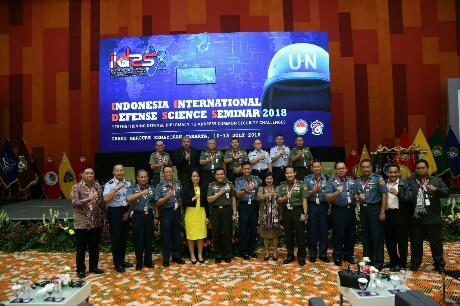 Hari Kedua Seminar Internasional Indonesia Internasional Defense Science Seminar (IIDSS) 2018
