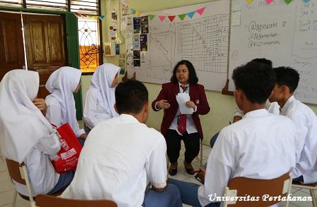Unhan Berikan Pelatihan Pendidikan Perdamaian di SMAN 5 Bogor
