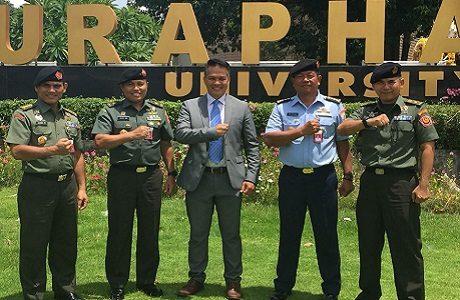 Kunjungan Delegasi Universitas Pertahanan ke Thailand dalam Rangka Tridharma Perguruan Tinggi