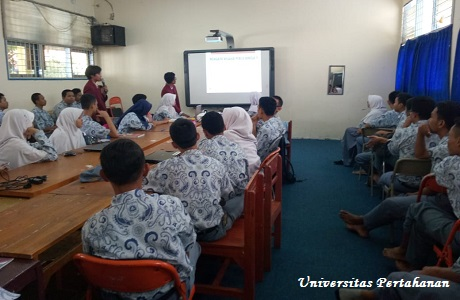 Mahasiswa Fakultas Teknologi Unhan Laksanakan Unhan Mengajar