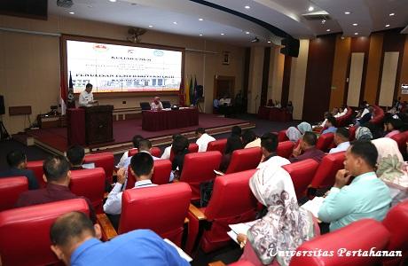 Kuliah Umum Kepala Badan Pengembangan dan Pembinaan Bahasa Kemendikbud di Unhan
