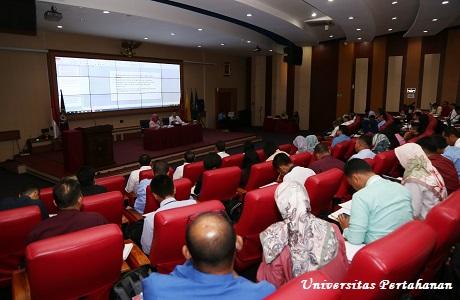 Mahasiswa Unhan terima Kuliah Umum dari Kepala PPSDK tentang Penulisan Tesis