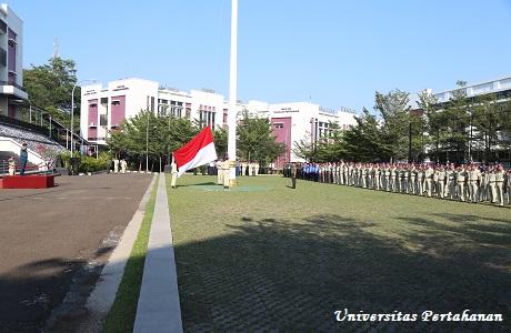 Unhan Selenggarakan Upacara Bendera 17-an rutin bulanan