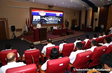 Menhan RI beri Kuliah Umum  kepada Mahasiswa Unhan TA 2018/2019
