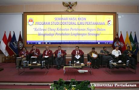 Program Studi Doktoral Ilmu Pertahanan Unhan Gelar Seminar Hasil KKDN Surabaya