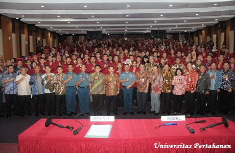 Kuliah Umum di Unhan Kasal Sampaikan: Salah satu pondasi kekuatan maritim melalui membangun armada niaga dan armada angkatan bersenjata