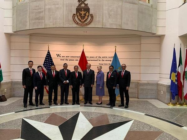 Unhan Laksanakan Benchmark & Educational Cooperation Program  ke National Defence University (NDU) Amerika Serikat