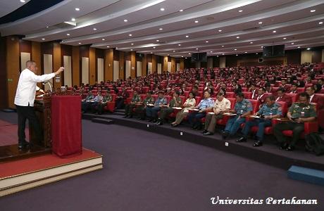 Menhan RI bekali Civitas Akademika Unhan Tentang Kebijakan Diplomasi Pertahanan